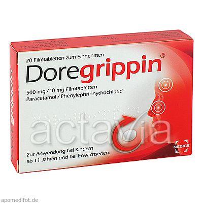 doregrippin tabletten 20 st erk ltung fieber grippe erk ltung arzneimittel actavia. Black Bedroom Furniture Sets. Home Design Ideas