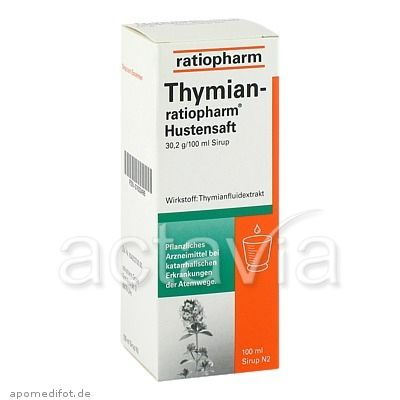thymian ratiopharm hustensaft 100 ml husten grippe. Black Bedroom Furniture Sets. Home Design Ideas